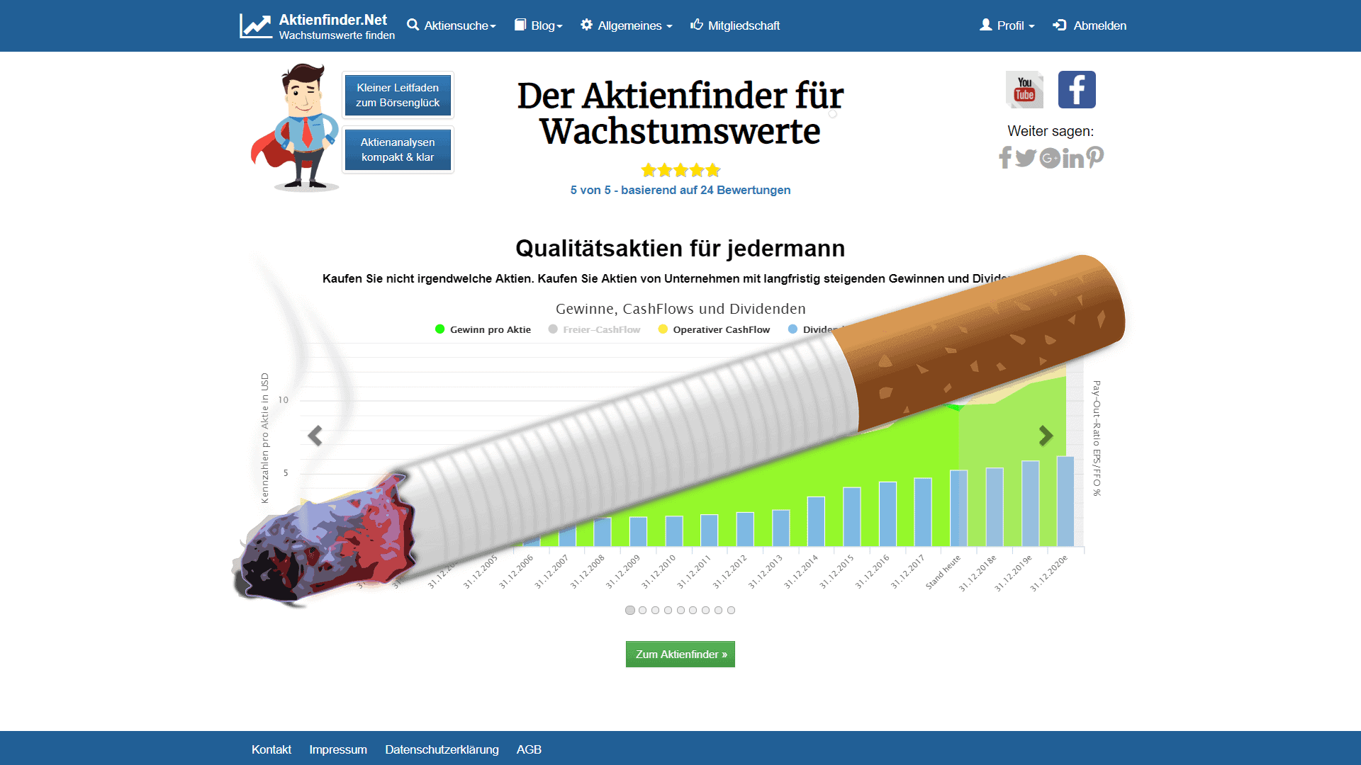 Zum Video: Philip Morris. Chancen und Risiken einer Branche im Wandel.
