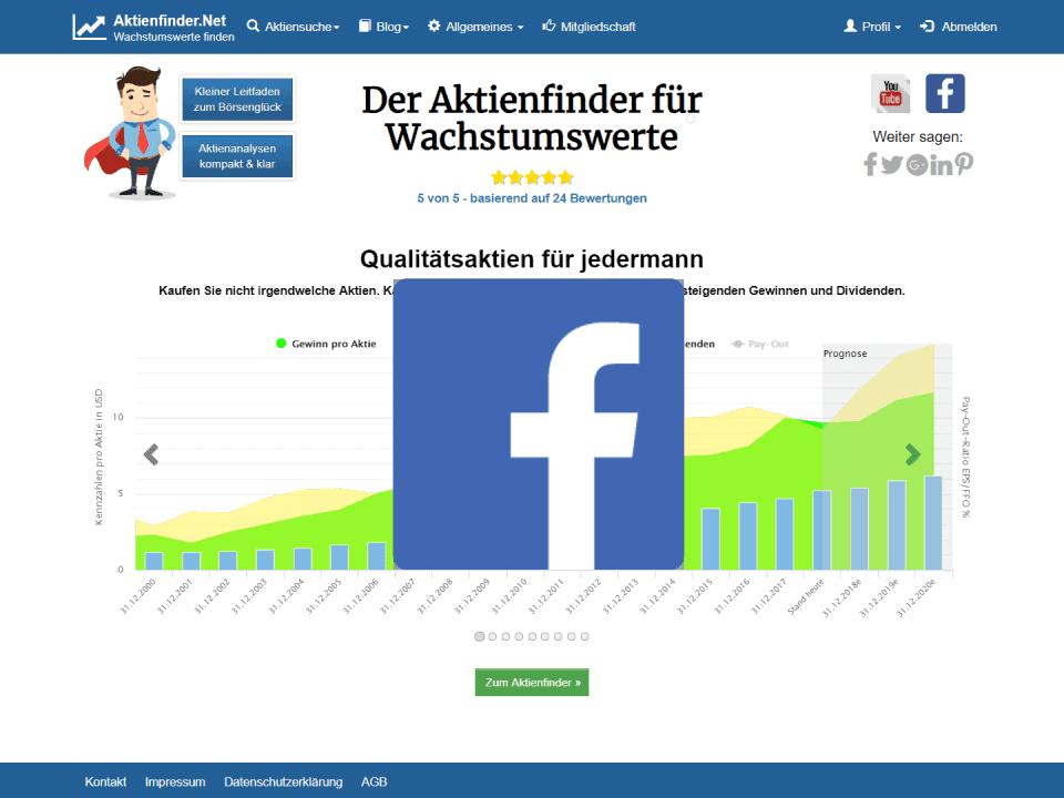 Facebook Aktie Aktienfinder