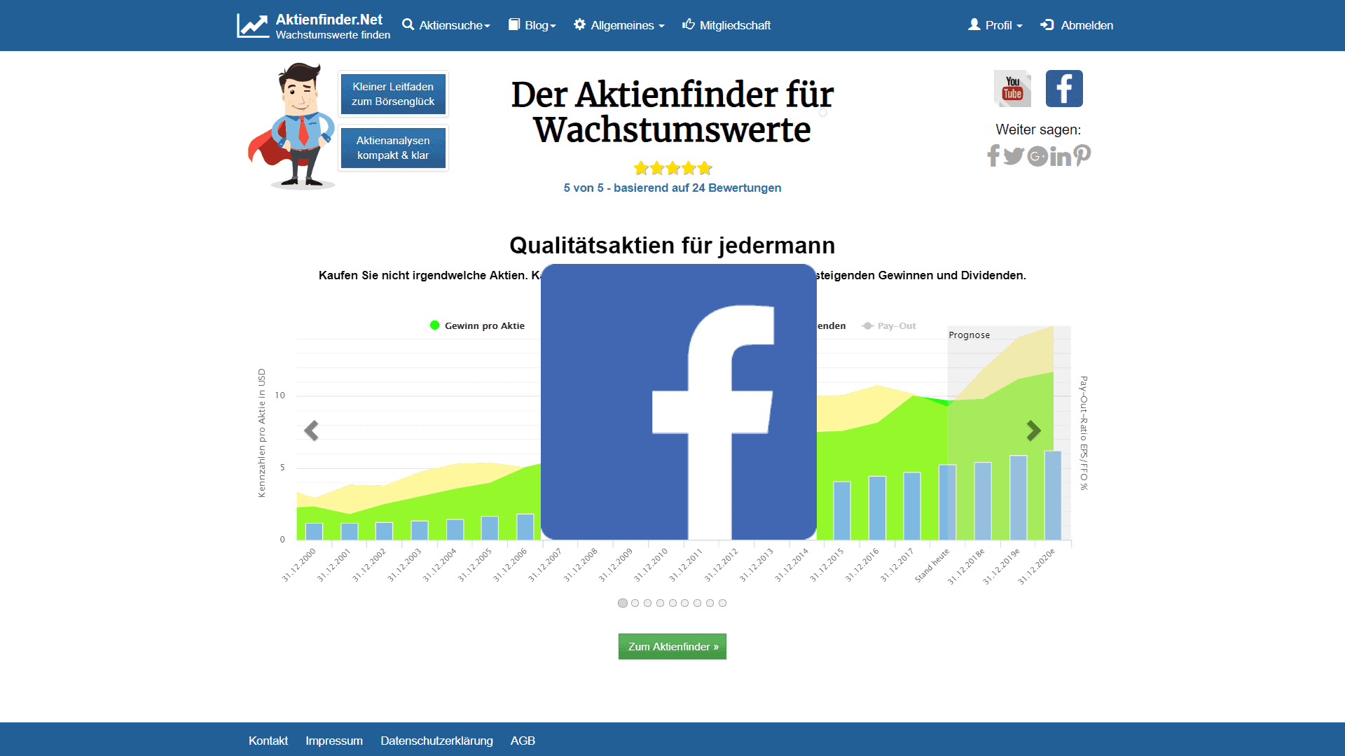 Zum Video: Facebook Aktie – Wo geht die Reise hin?