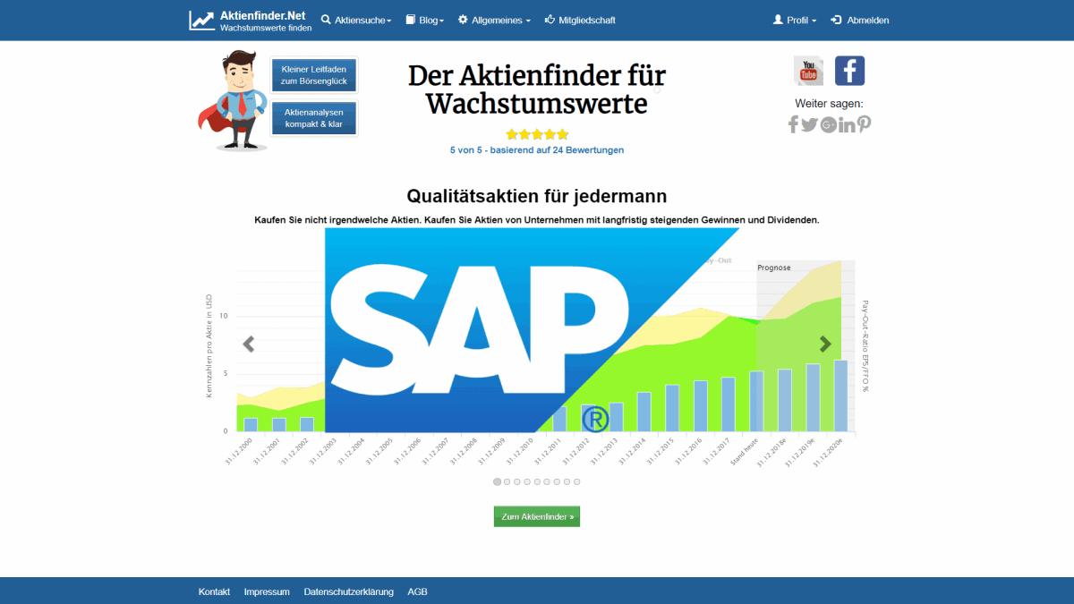 SAP Aktie Analyse