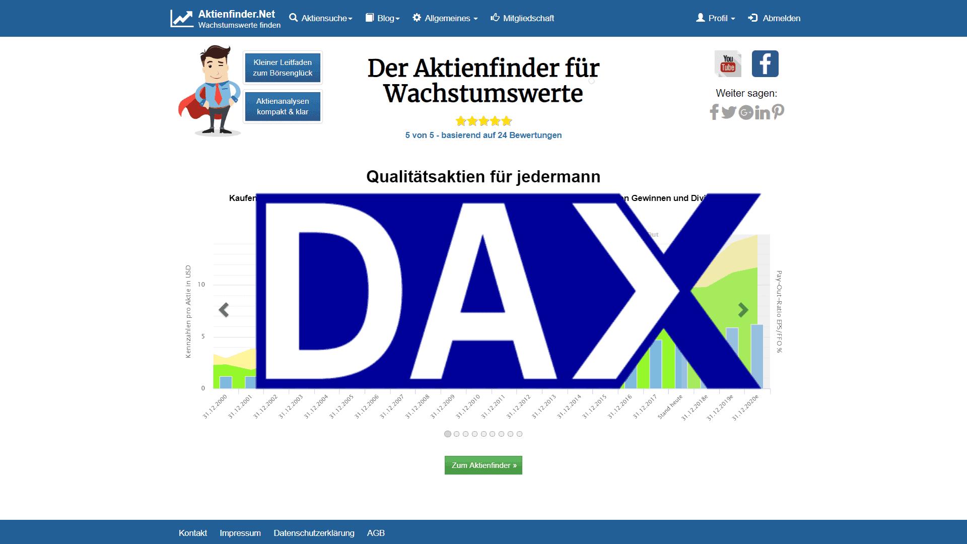 Zum Video: Dax Aktien Check – Was taugen die Dax-Aktien?