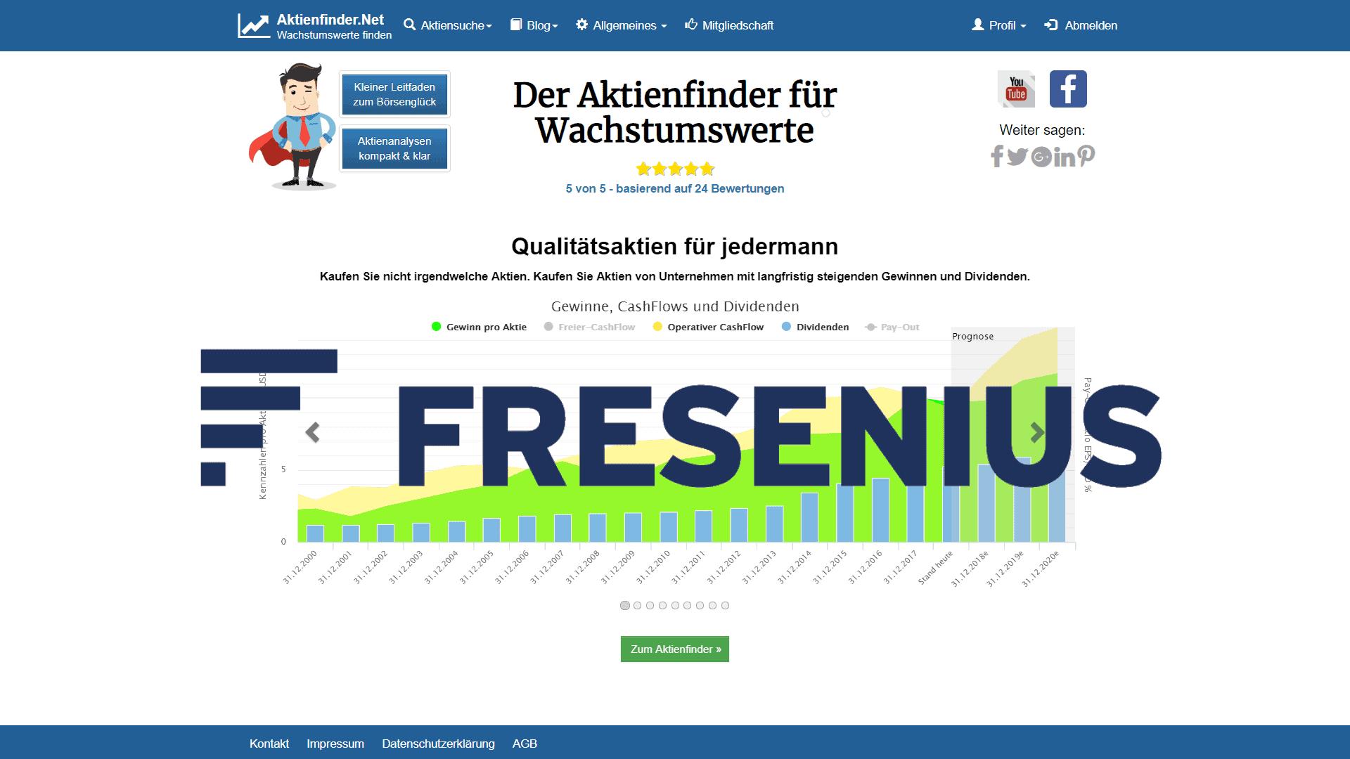 Zum Video: Fresenius SE – Dividenden-Aristokrat in Not