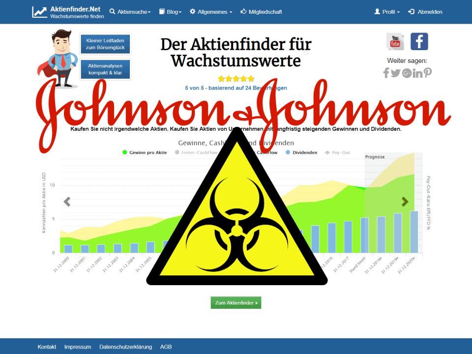 Aktienfinder Johnson & Johnson
