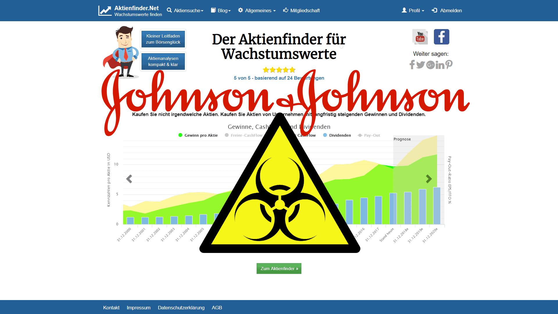 Zum Video: Johnson & Johnson Aktie – Asbest: Tödliche Dosis für Investoren?