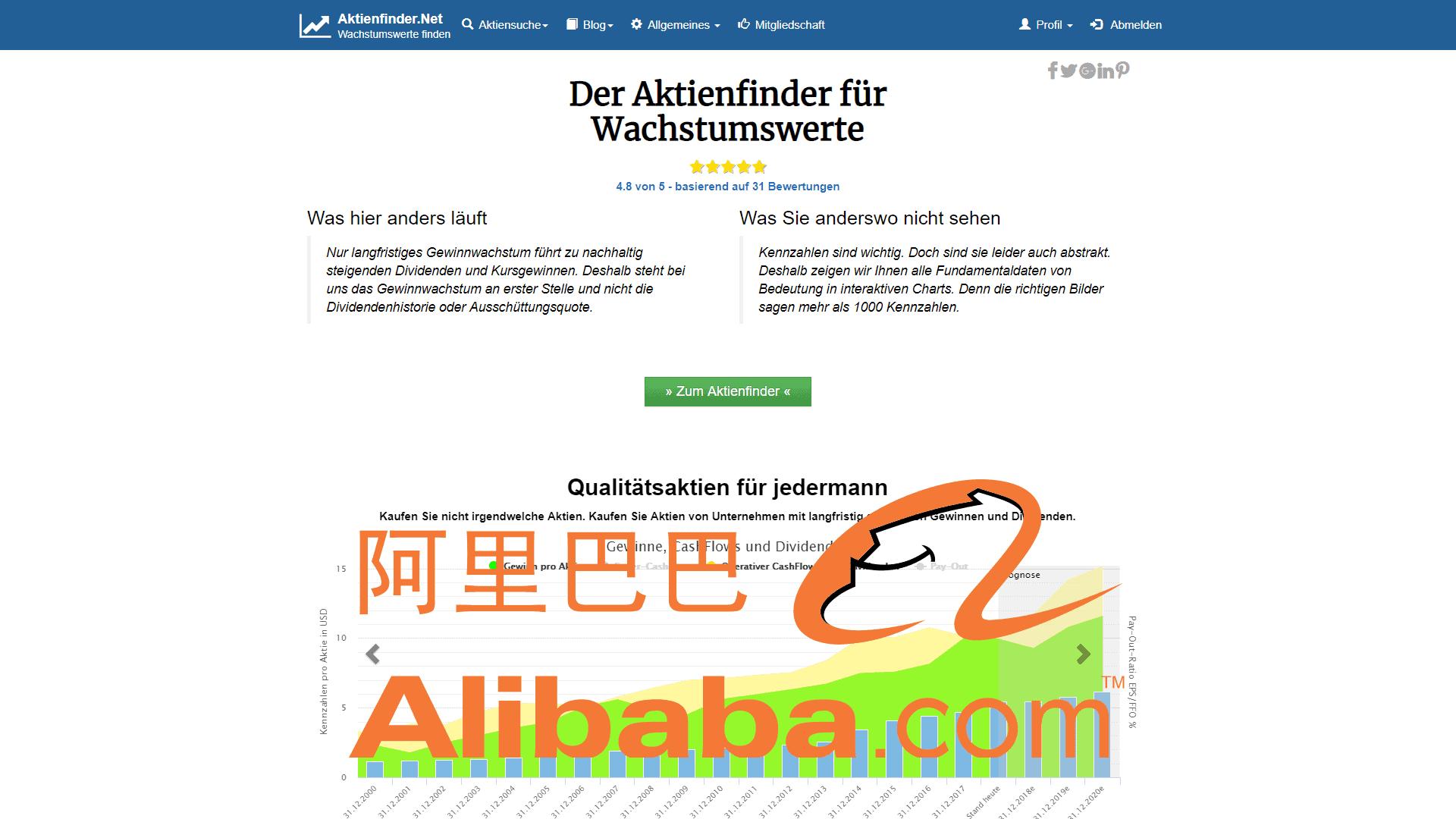 Zum Video: Alibaba Aktie – Investieren in das bessere Amazon?