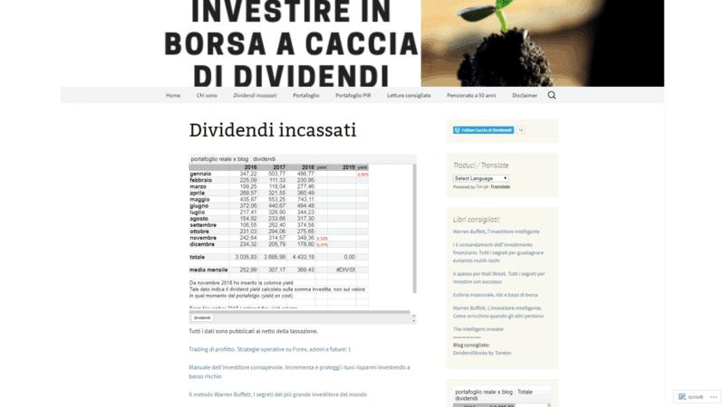 Dividendi Dividenden Finanzblog