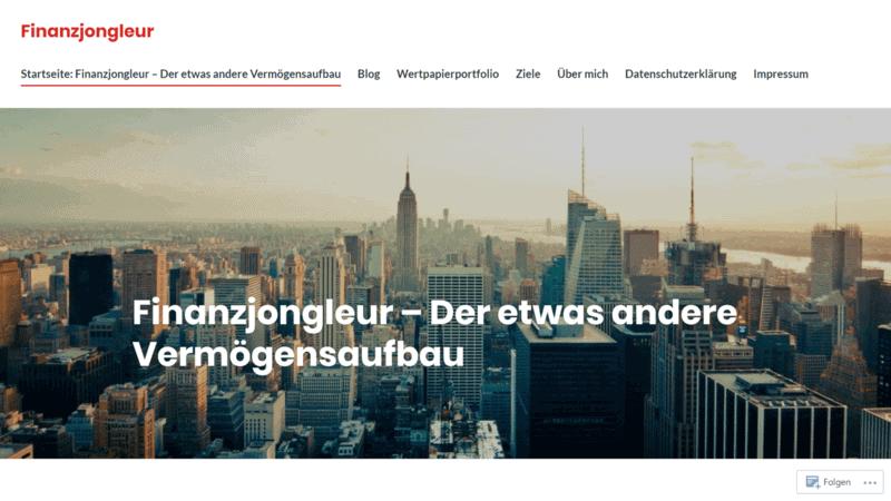 Finanzjongleur Finanzblog