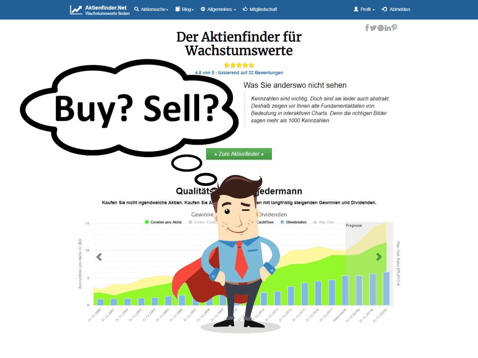 Kommentare im Aktienfinder