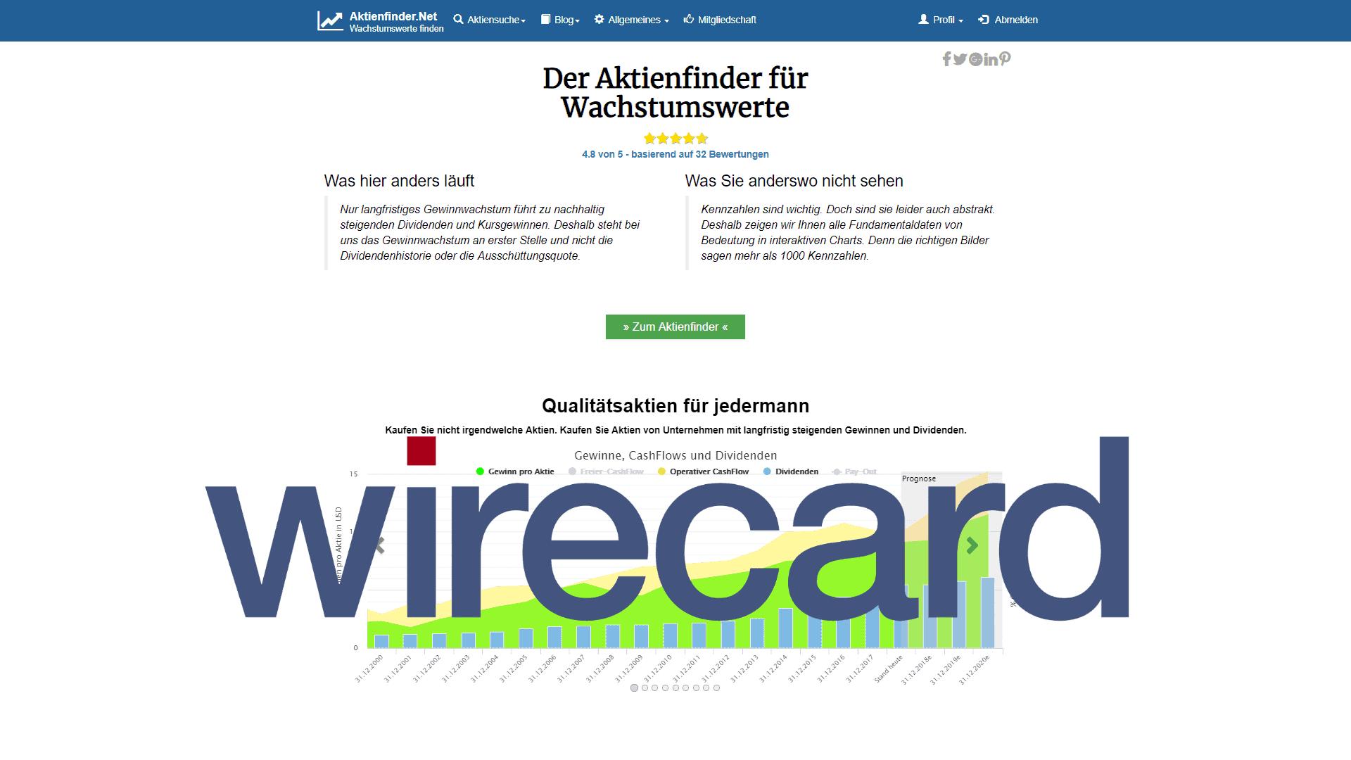 Wirecard Aktie: Kurssturz um 14%! Die wahren Gründe.
