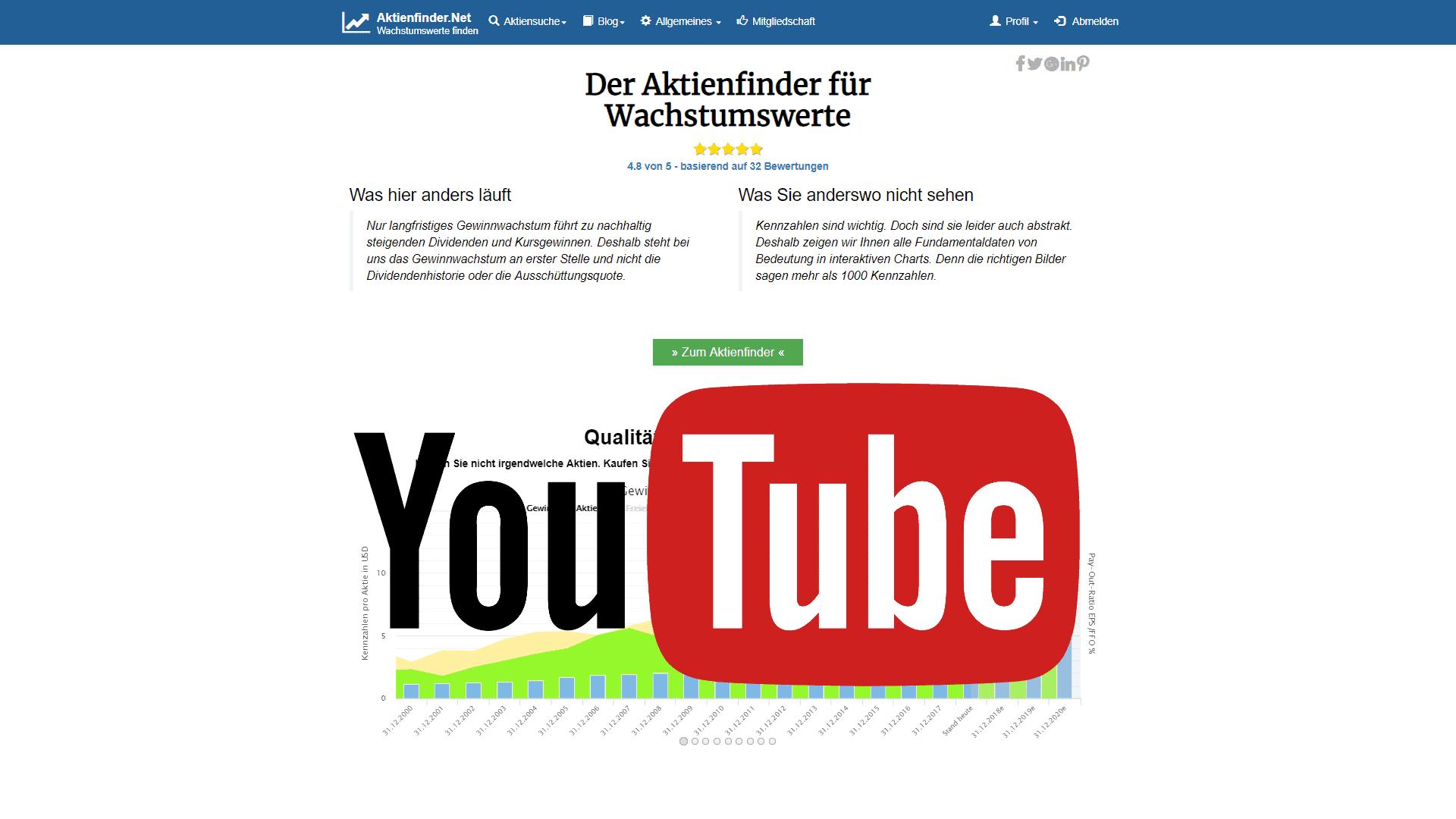 Aktienanalysen und Finanzwissen auf YouTube