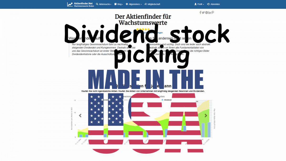 Dividende Aktien Suchen in den USA