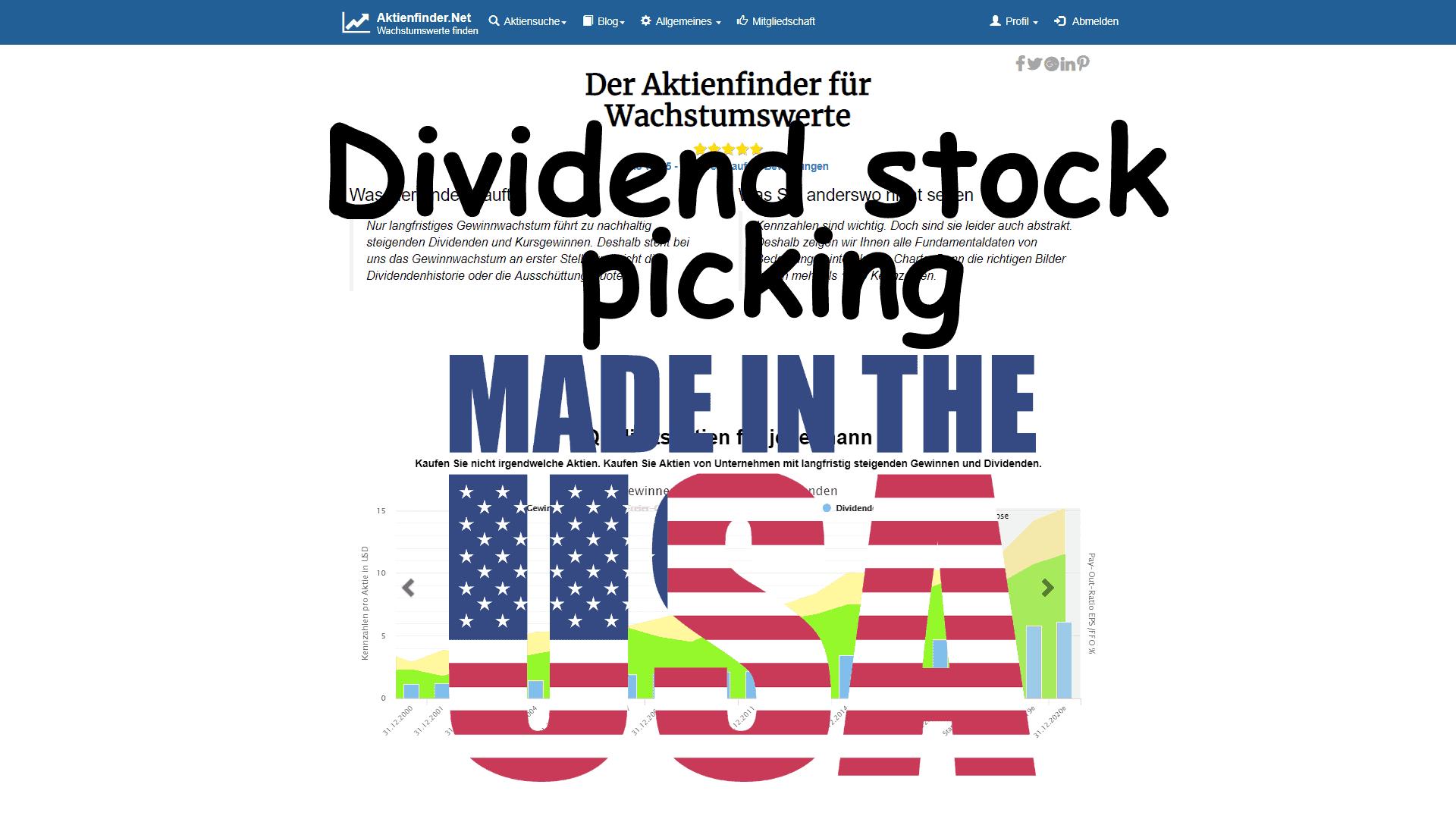 Top Dividenden-Aktien – wenn ich Amerikaner wäre