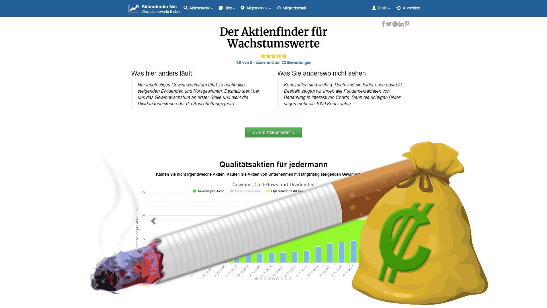 Tabakaktien – Ein Kauf für Dividendeninvestoren?