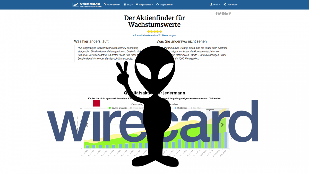 Aktienfinder Wirecards CEO Markus Braun ist ein Alien