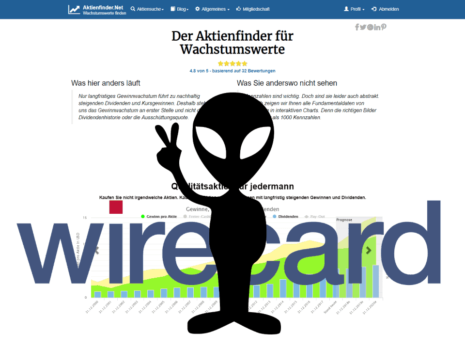 Aktienfinder Wirecards CEO Markus Braun ist ein Alien