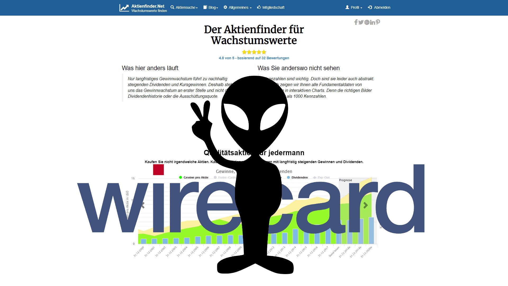 FT legt nach: CEO von Wirecard, Markus Braun, ist ein Alien! 🛸