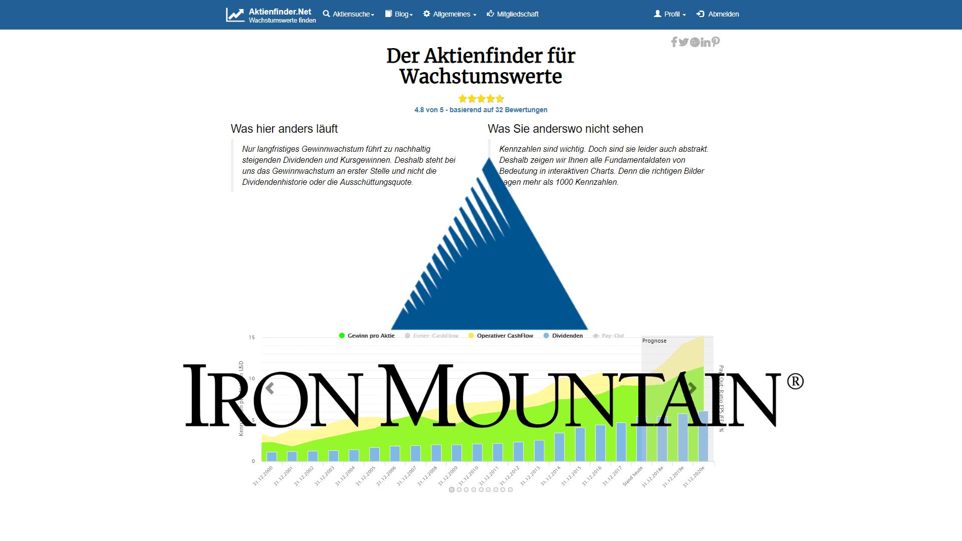 Iron Mountain: Dividenden-Gigant mit Schönheitsfehlern?