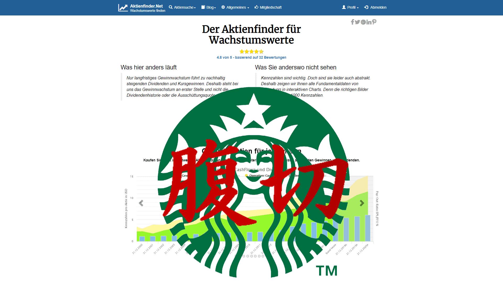 Starbucks Aktie – bilanzielles Harakiri eines Börsenstars