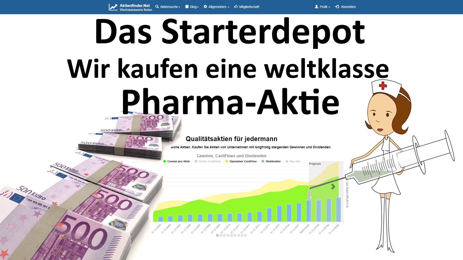 Wir kaufen eine weltklasse Pharma-Aktie