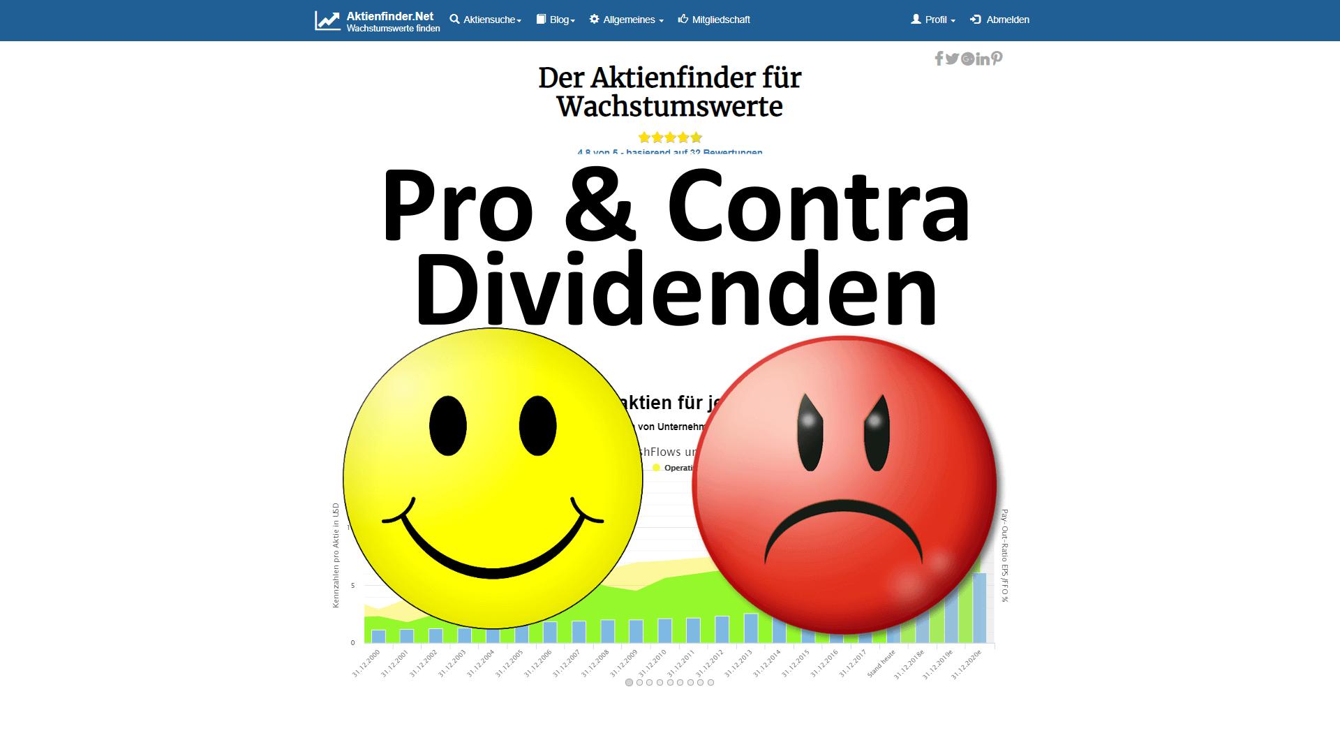 Pro & Contra Dividenden