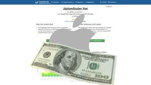 Aktienfinder Apple Aktie Bewertung