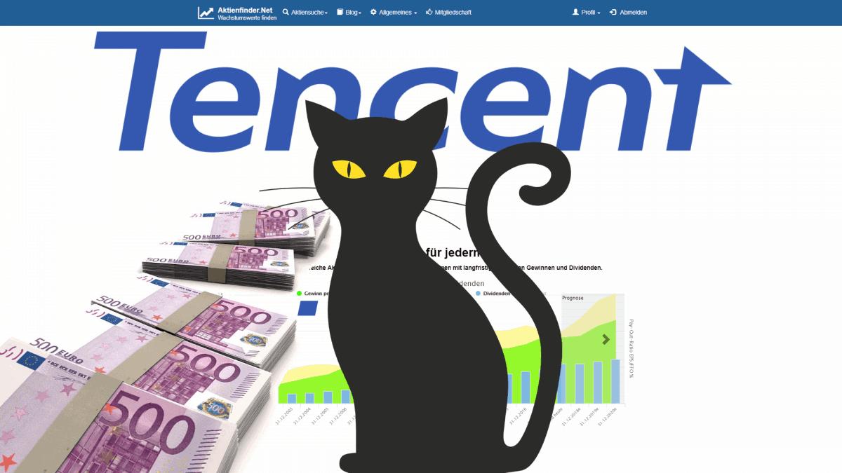 Aktienfinder - Tencent Aktie