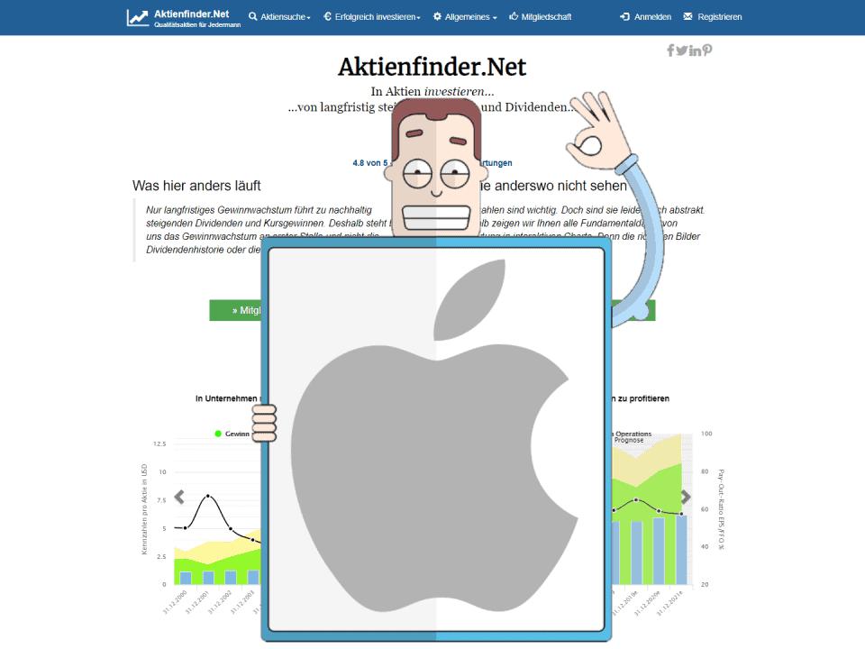 Der freundlichen Nachbar empfiehlt die Apple Aktie