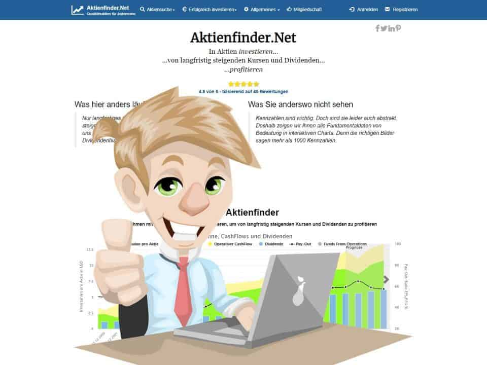 Aktienfinder.Net - Das Start-Up