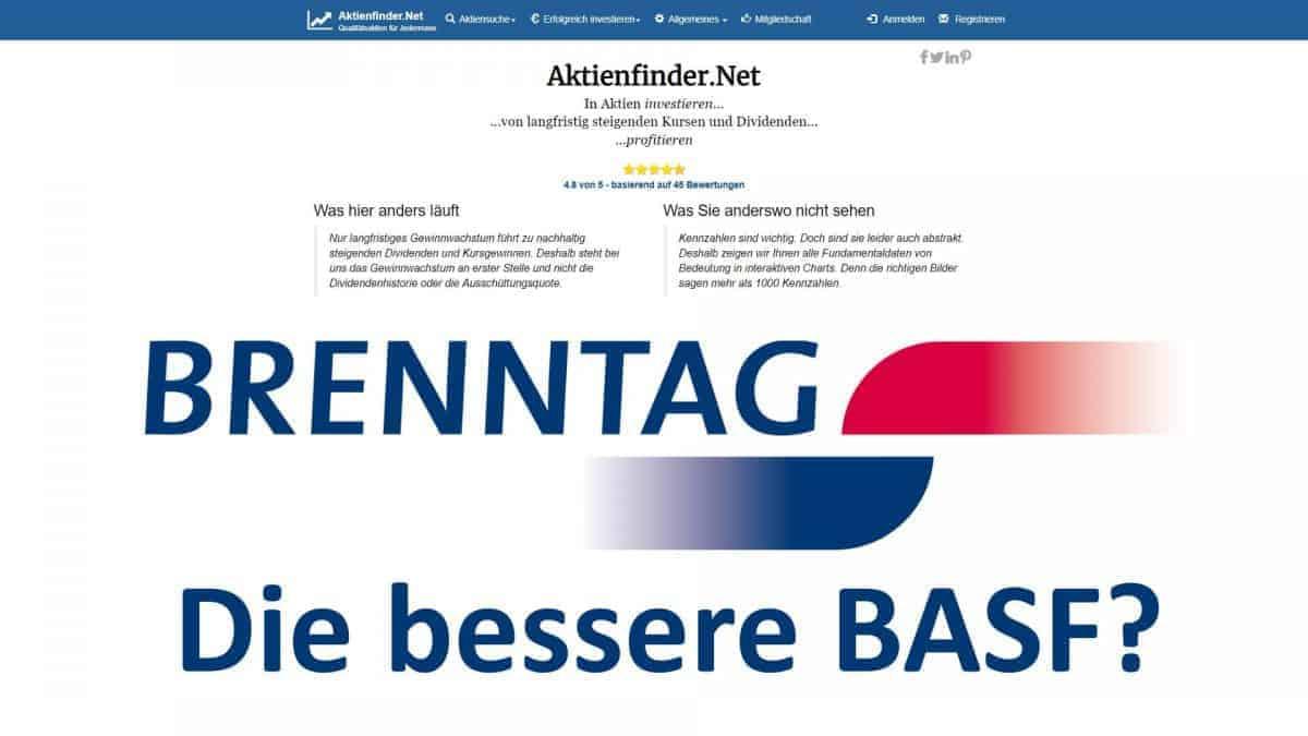 Mit Brenntag die bessere BASF Aktie kaufen
