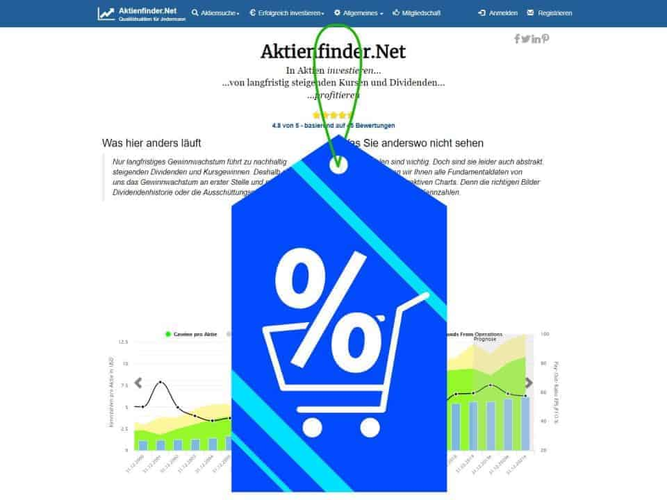 Dividenden-Aktien mit Rabatt