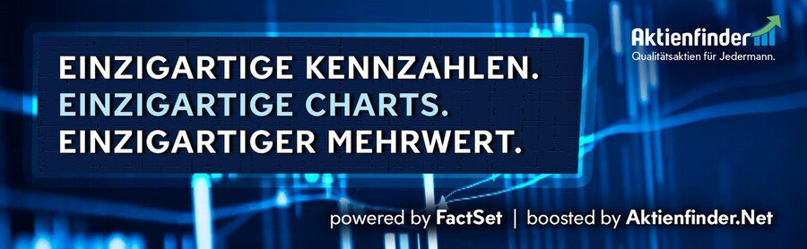 Einzigartige Kennzahlen - einzigartige Charts - einzigartiger Mehrwert