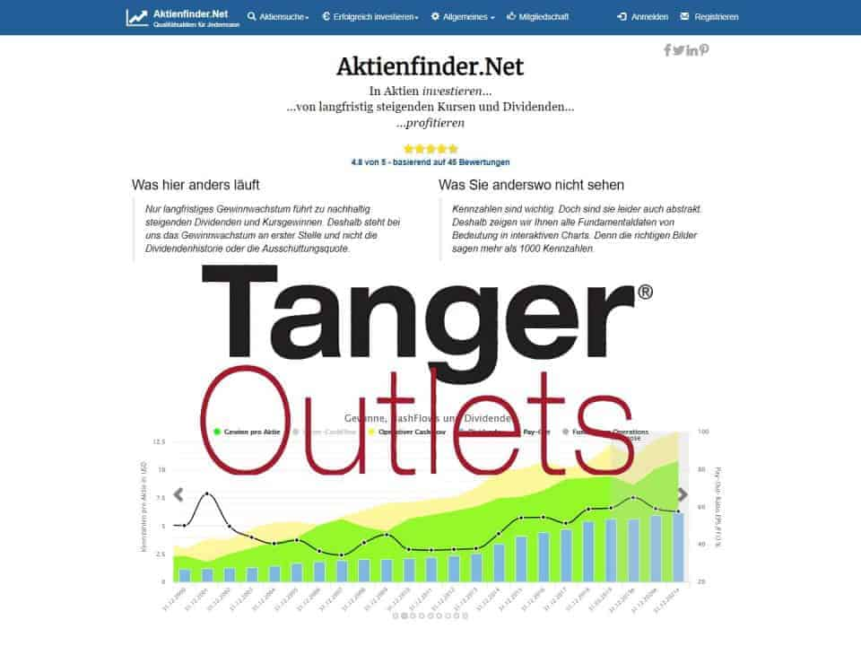 Aktienfinder Tanger Factory Outlet Aktienanalyse
