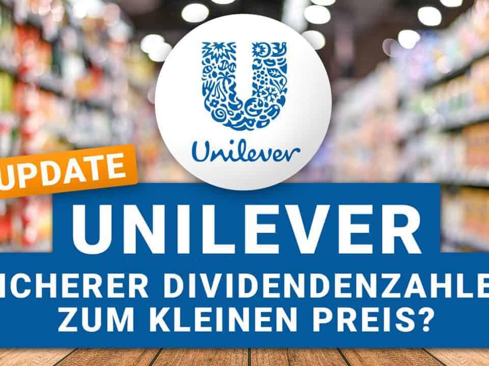Unilever Dividende 2021
