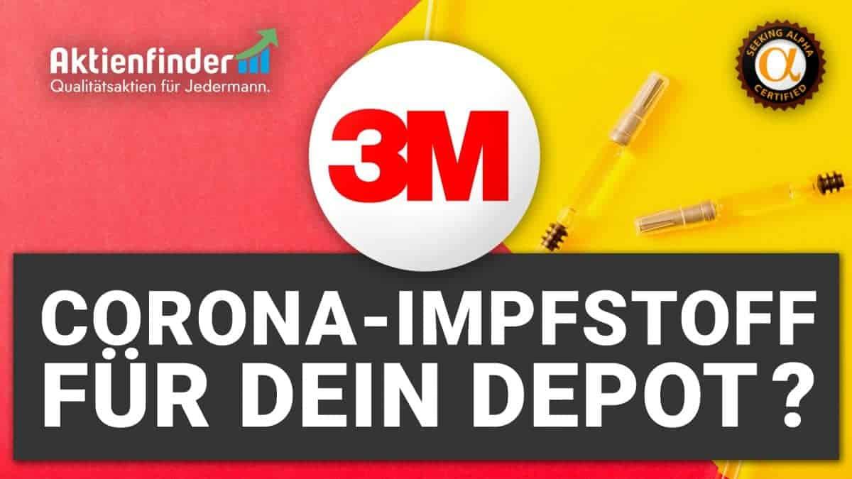 3M Aktie - Corona-Impfstoff für dein Depot