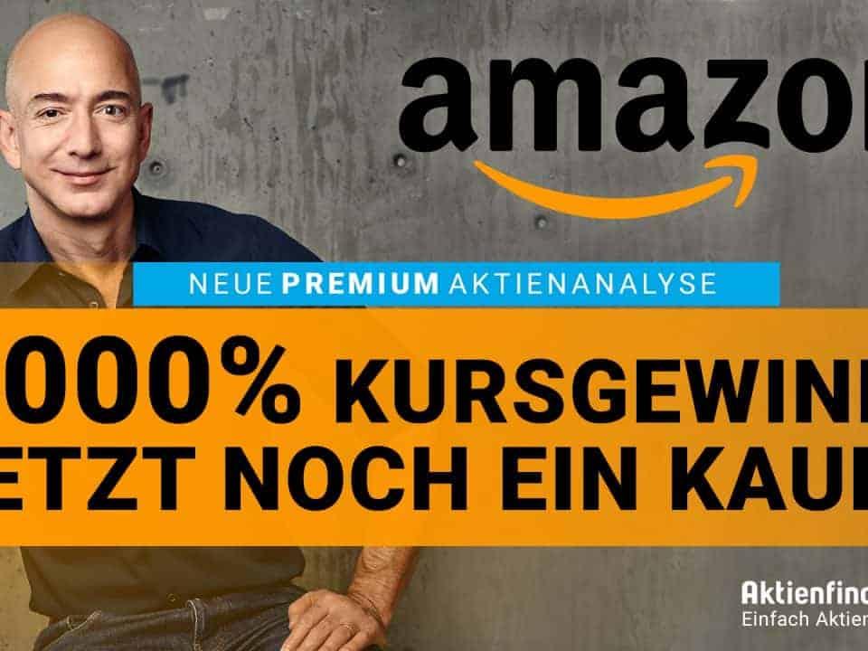 Amazon Aktie - 8000 Prozent Kursgewinn - Jetzt noch ein Kauf