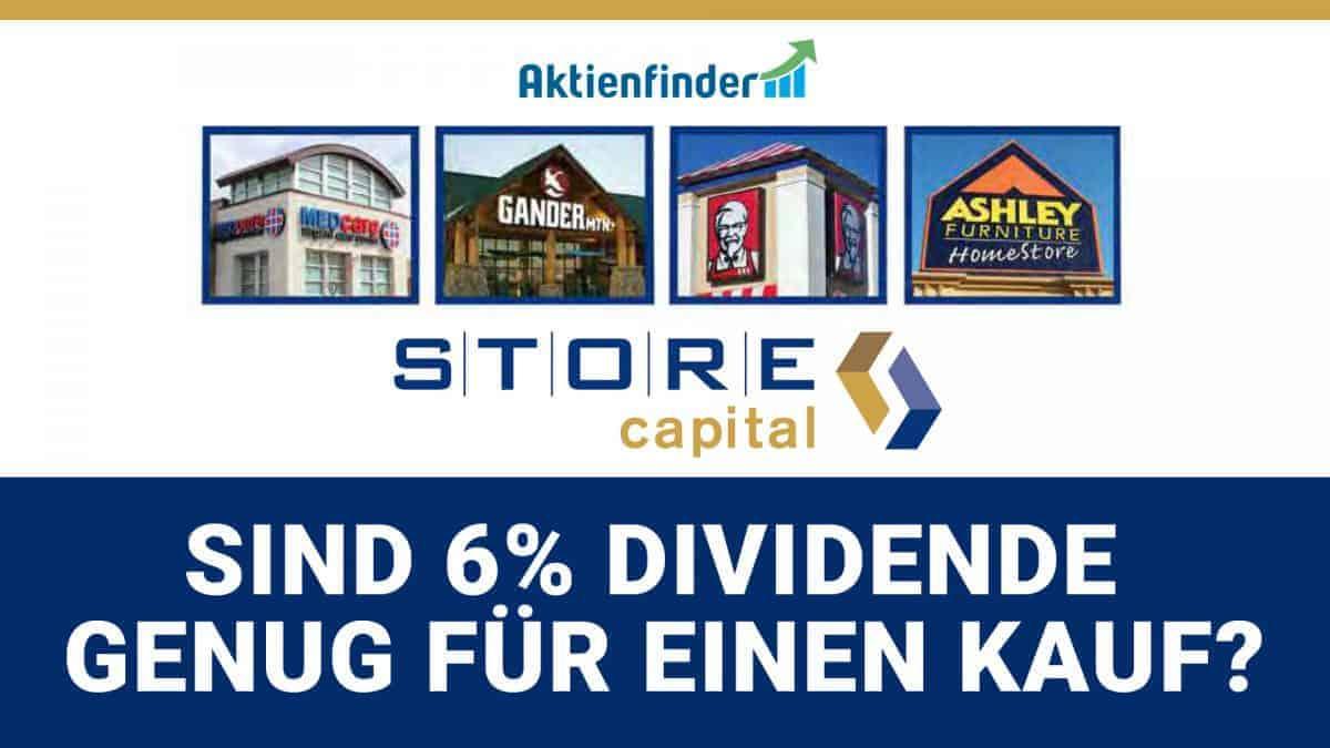 STORE Capital Aktie - Sind 6 Prozent Dividende ein Kauf
