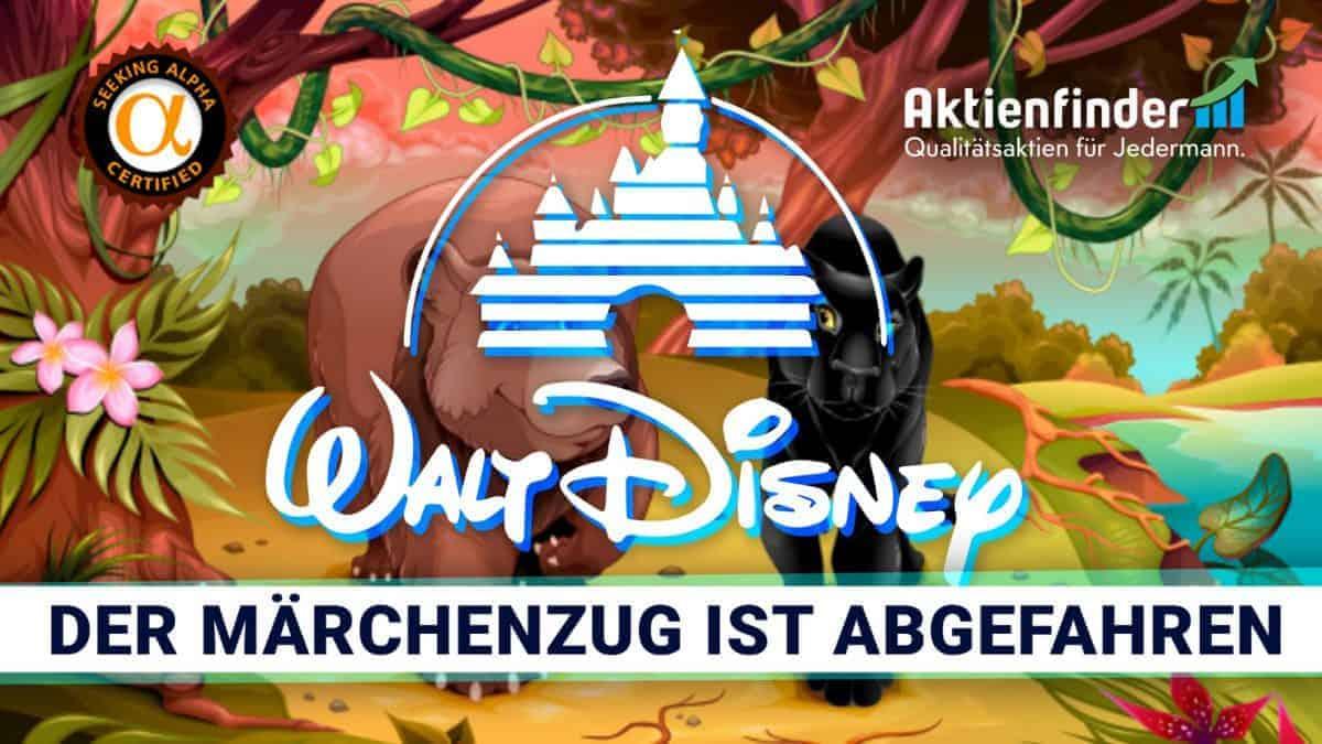 Walt Disney Aktie - Der Märchenzug ist abgefahren