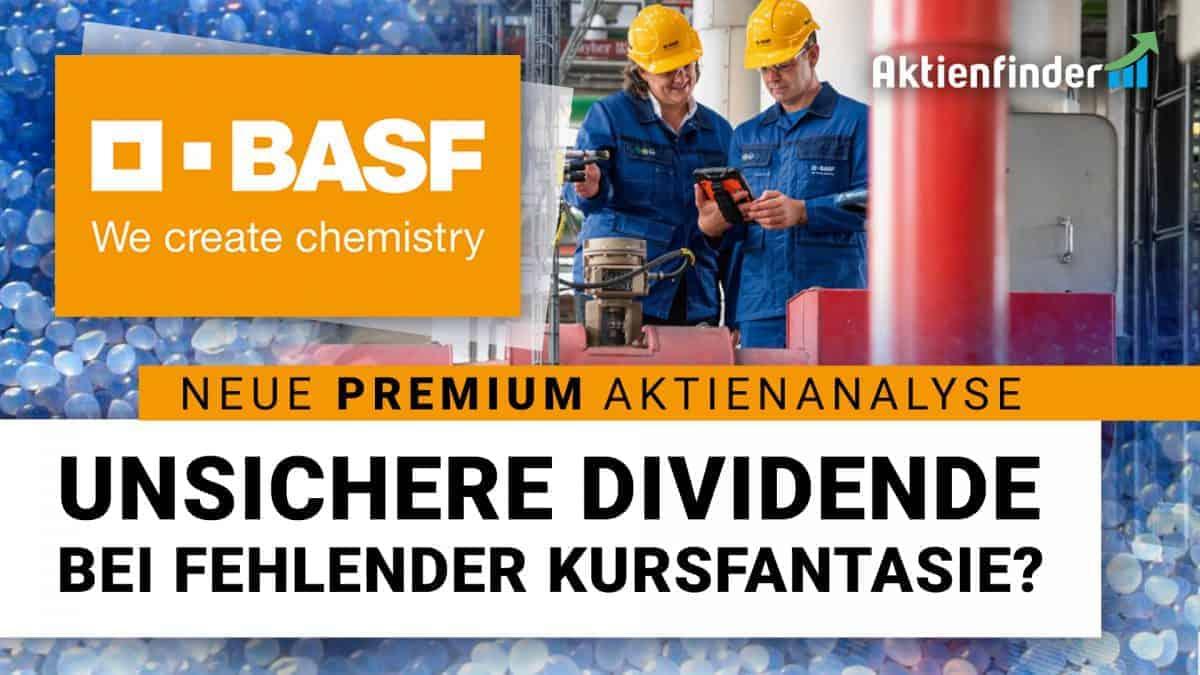 BASF Aktie – Unsichere Dividende bei fehlender Kursfantasie