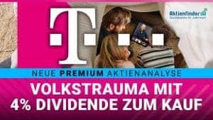 Deutsche Telekom - Volkstrauma mit 4 Prozent Dividende zum Kauf