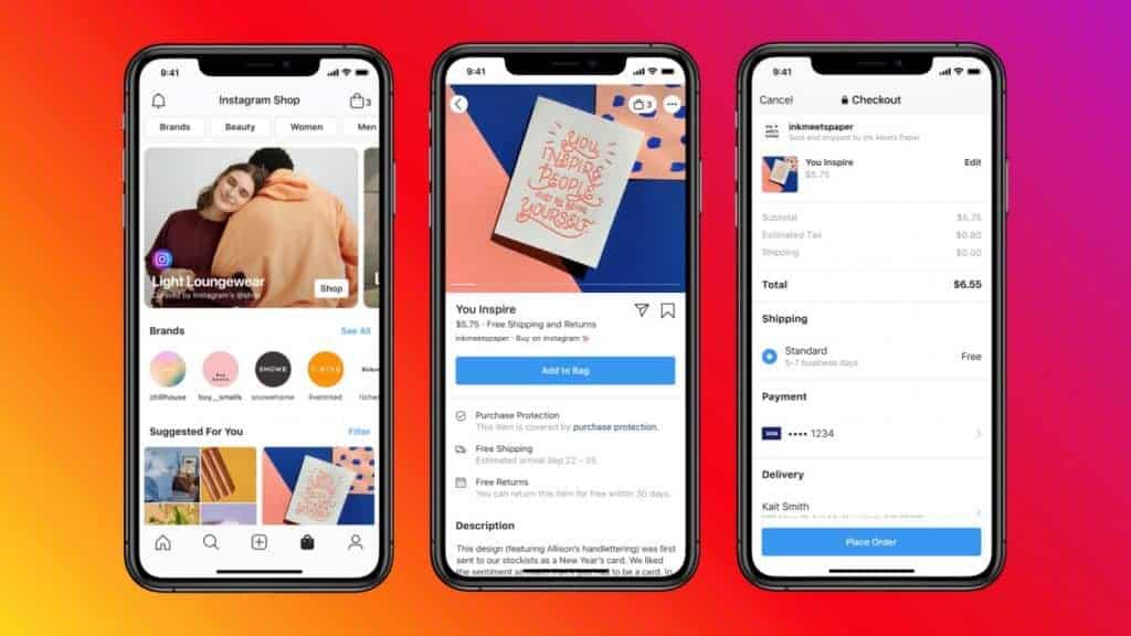 Mit Facebook Shops können Verkäufer ihre Online-Shops direkt mit den Facebook Plattformen verbinden