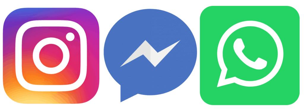 WhatsApp, Instagram und Facebook bilden den Kern des Unternehmens
