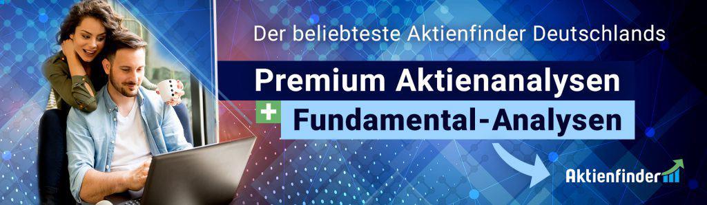 Premium Aktienanalysen - kostenlos auf AktienfinderNet