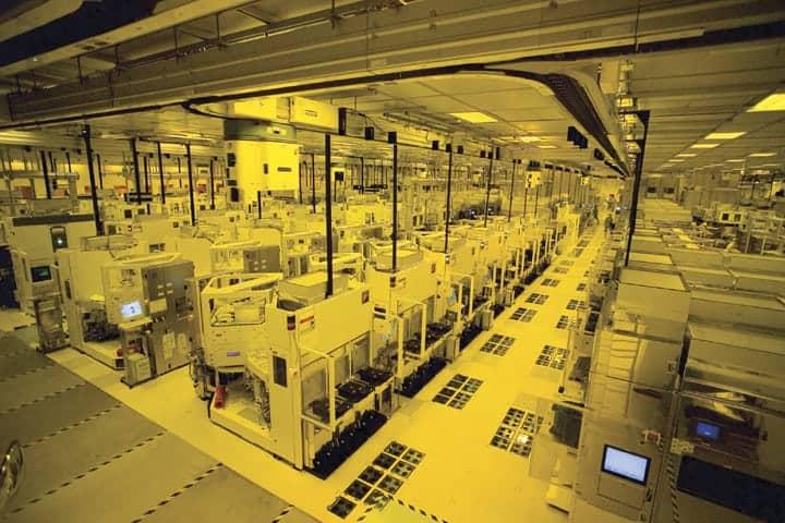 Produktionsanlage von TSMC