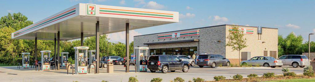 Realty Income - 7-Eleven bei Tankstelle