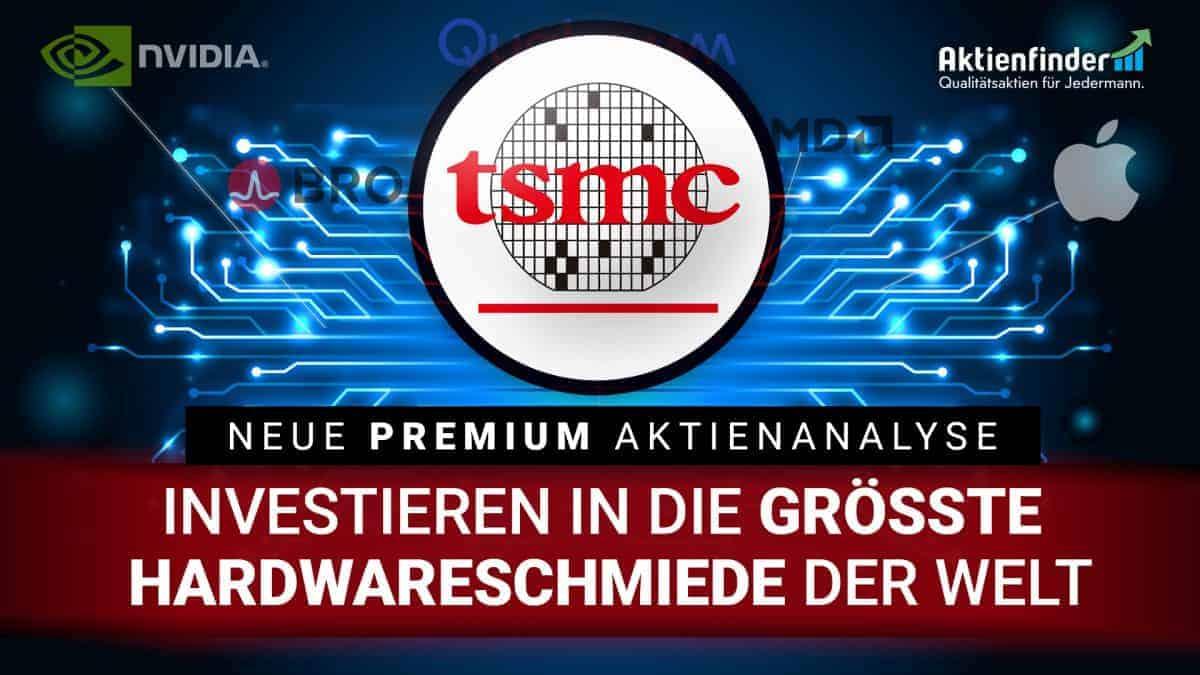 TSMC Aktie -Investieren in die groesste Hardwareschmiede der Welt