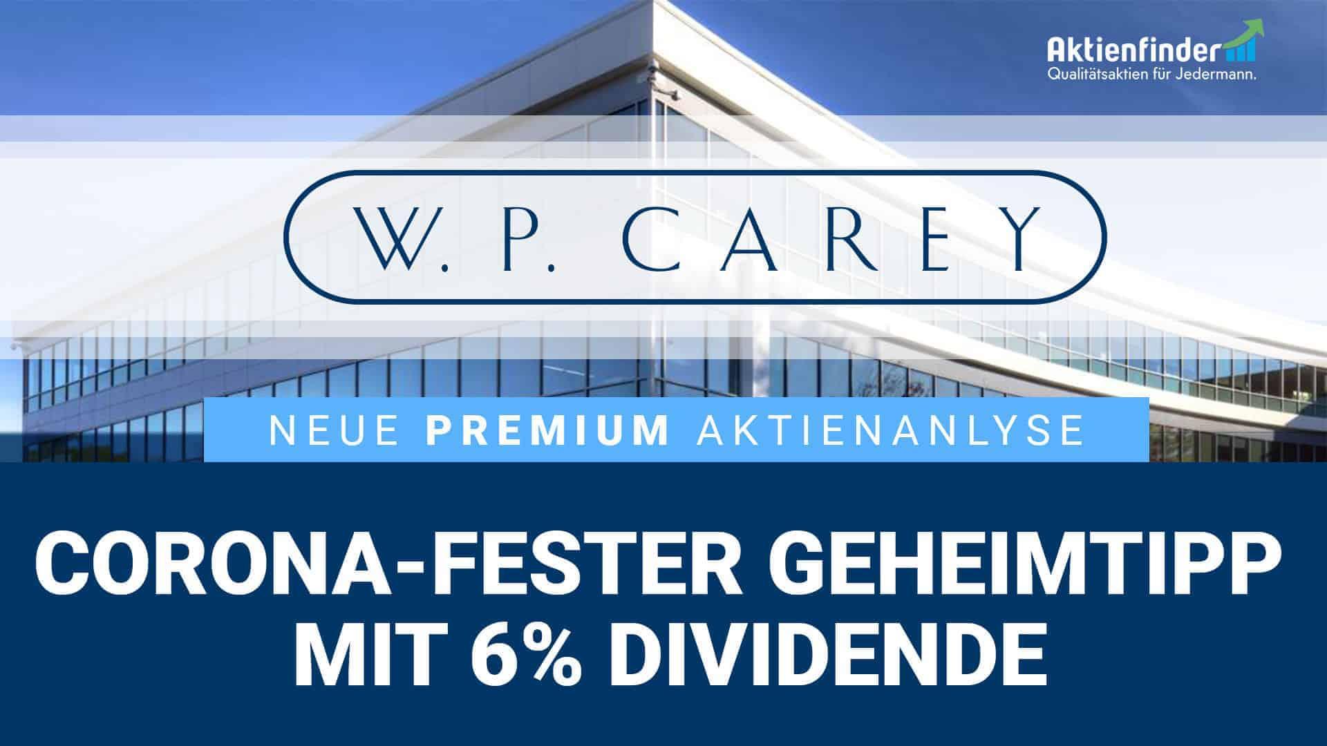 Wp Carey Aktie