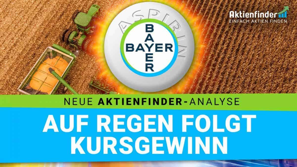 Bayer Aktie - Auf Regen folgt Kursgewinn