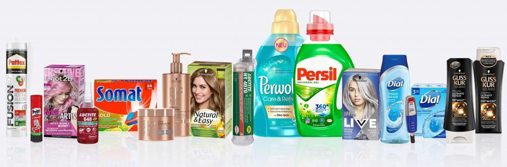 Bekannte Henkel Marken