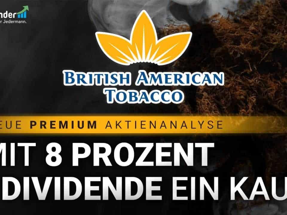 British American Tobacco Aktie Aktienanalyse