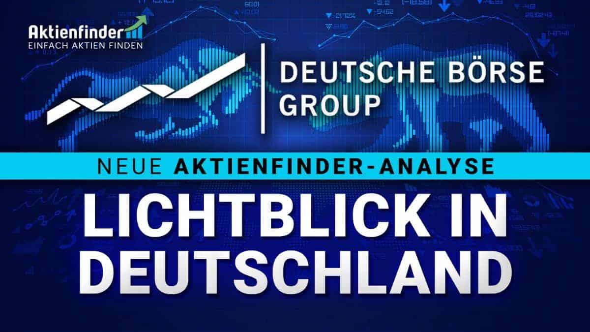 Deutsche-Börse Aktie - Lichtblick in Deutschland